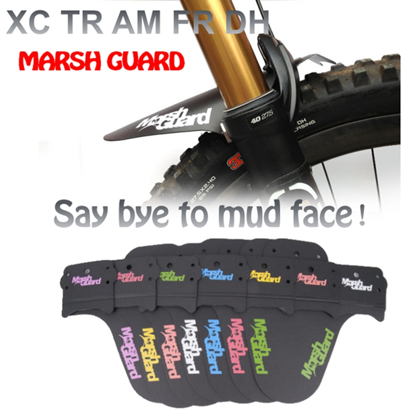 MTB Mountain Bike Front Fender Mudguard Marsh Guard Fixed Gear Water Colorful Bl