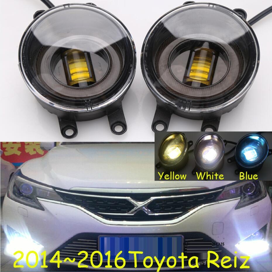 Reiz fog light,2pcs/set,optonal:White,yellow,blue,Yaris daytime light,Free ship! Prado fog light,LED,Alphard headlight<br>