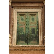 Classical old door photo props wrinkle free fleece photography backdrop for studio photography backgrounds F-1551-A