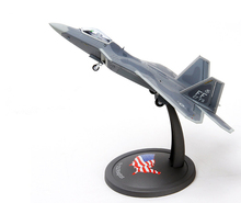 F-22 fighter model military model alloy model aircraft model toys action toys(China)