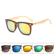 Classic Handmade Bamboo Sunglasses Retro Vintage Wooden women men nail Original Wooden Oculos De Sol uv400 unisex sun glasses