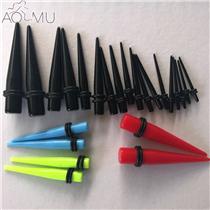 18PCS-Tapers-Ear-Plugs-Guages-1-6mm-10mm-Kit-Acrylic-Ear-Expanders-Ear-Stretcher-Plug-Flesh_