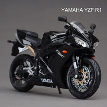 Freeshipping Maisto YAMAHA YZF R1 1:12 Motorcycles Diecast Metal Motorbike Model Toy New in Box For Kids(China)