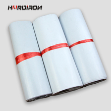 HARD IRON White courier bag self-adhesive poly mailer White poly mailing post envelope pouches Plastic Express Courier bags(China)