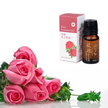 Discounted Stretch Marks Removing Essential Oil Rose Oil Skin Care Treatment Acne Scar Removal Cream For Stretch Mark 10 ml(China)