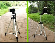 portable camera DV Tripod Stand Weifeng WT-330A+ Phone Clip Kit for Video Camcorder Binoculars(China)