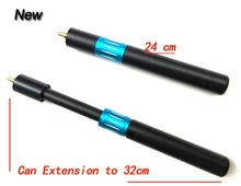 Free Shipping Telescopic Snooker cue extension, 24cm Extend To 32cm Stainless Steel Pool cue Stick accessory