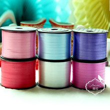 5MM Width 90M Foil Balloon Ribbon Streamers Wedding Party Xmas Birthday Party Decoration Supplies Crafts Gift Ball Packing Belt(China)