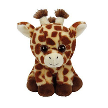 "Ty Beanie Babies 6"" 15cm Peaches The Giraffe Plush Stuffed Animal Collectible Puppy Doll Toy"