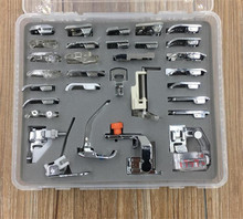 32 PCS Domestic Sewing Foot Set for Singer, Brother, Janome,Kenmore, Elna,.Toyota,Etc,New Home,Low Shank Sewing Machines 7YJ29