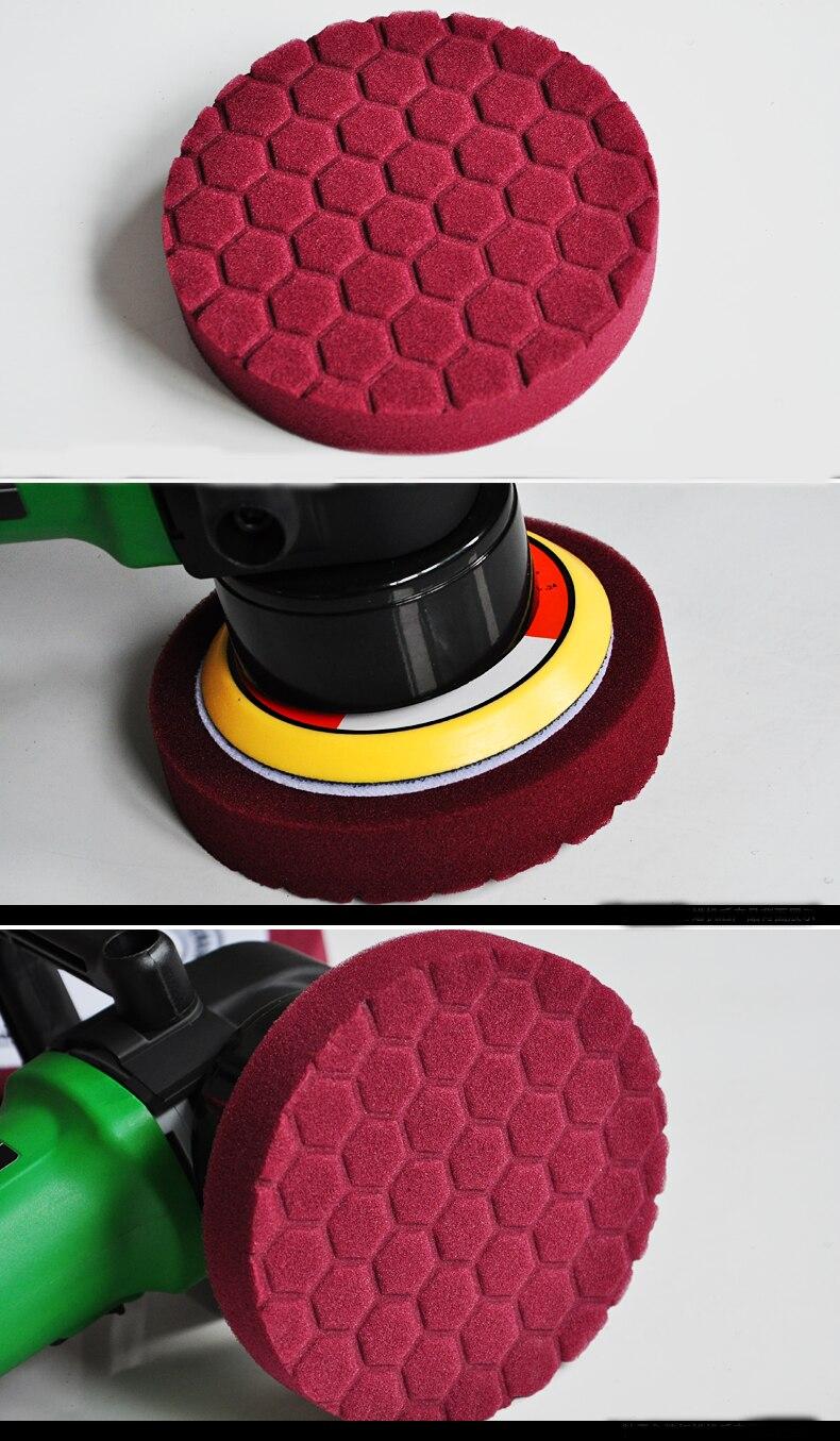 6 inch waxing  foam pad for car polisher<br>