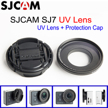 Original SJCAM SJ7 Star MC UV Lens 40.5mm with Protection Cap - Anti Scratch Lens UV Filter Lens + Cap For SJCAM SJ7 Star Camera