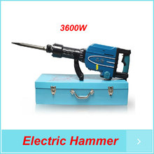 Electric Pick GUN with rotate handle, Electric Hammer 3600W