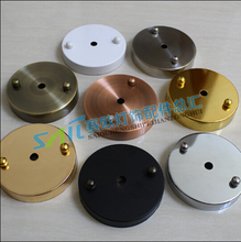 Free shipping  Ceiling light wall light ceiling bases accessorie Canopy cover base round pendant lamp ceiling plate lamps 100mm
