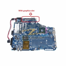 LA-3481P K000057510 for toshiba satellite A200 A205 laptop motherboard 965PM DDR2 with graphics slot(China)