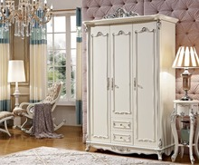 Hot selling 3 doors wardrobe for clothes(China)