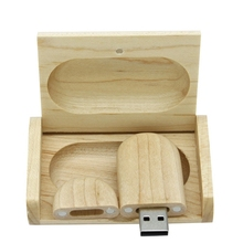 Real Creative Bamboo Wooden Gift Usb Flash Drive Pendrive 3.0 Pen Drive 64GB 128GB 256GB 512GB 1TB Memory Stick Card Disk On Key