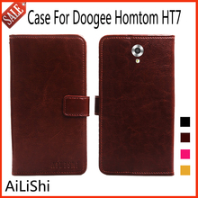 Buy AiLiShi Luxury Leather Case Doogee Homtom HT7 Case Wallet Card Slot Flip Protective Bag Cover High Quality! for $3.92 in AliExpress store