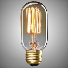 Buy Vintage edison bulb e27 incandescent light 220v/110V retro lamp st48 filament indoor lighting home decor ampoule lampada P2 for $2.49 in AliExpress store