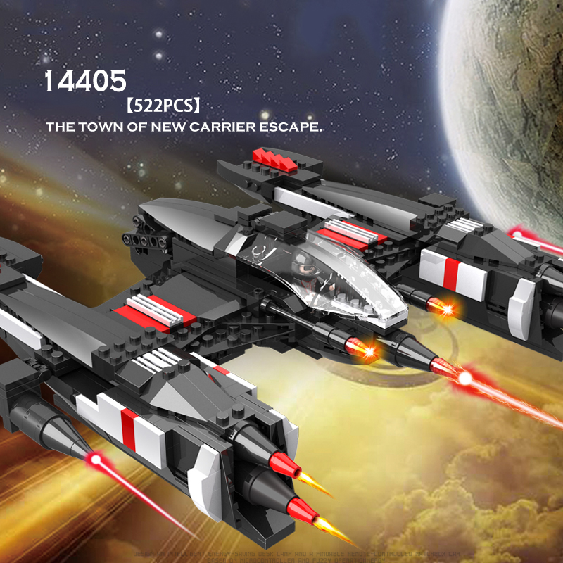 COGO Space Educational Building Blocks Toys For Children Kids Gifts Carrier Ship Star War <br>