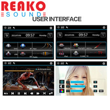 REAKOSOUND 6.2 Inch 6201A Audio DVD SB / SD Bluetooth 2-Din Car CD Player + 1/3 Inch Color CMOS Camera