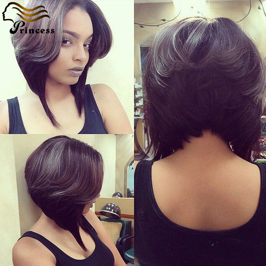 7A Cheap Malaysian Human Hair Bob Wig For Black Women Straight Glueless Lace Front Human Hair Wigs With Baby Hair Bleached Knots<br><br>Aliexpress