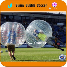 6PCS+1pump TPU hot sales  2017 New design colorful Inflatable Giant Human Bubble Ball Football for kid