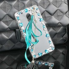 Luxury Ribbon Tassel Case for Moto G5 Plus G4 Plus G4 Play Z Z Force X Style Play E2 E3 G2 G3 X2 Cover PC Hard Rhinestone Coque