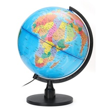 KiWarm Fashion LED Electronic Floating Geography Globe World Map For Birthday Business Gift Office Desk Decor Crafts Ornaments