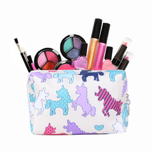 Women Animal Print Packs Cosmetic Bags Markup Pouch Travel Necessary Storage Beauty Tools Organizer Accessories Supply Products(China)