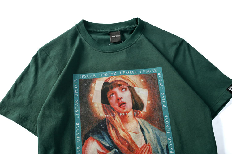 Virgin Mary Men's T-Shirts 4