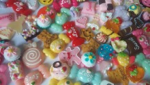 Decoden Sweets Flatback Deco Resin Kawaii Cabochon Assortment Assorted Pack phone case decoration DIY   IB3328