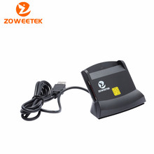 Zoweetek 12026-6   Easy Comm USB Smart Card Reader IC/ID card Reader for Windows/ Linux/ MAC High Quality