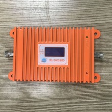 High Quality 2g 3g 4g repeater Gain 65DB DCS/3G Cell Phone repeater Dual Band 1800/2100 mhz GSM mobile signal booster amplifier