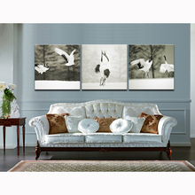 Grusjaponensis Dating Modern Animal Art Giclee Canvas Print on Waterproof Canvas High Definition for Room Wall Unframed(China)