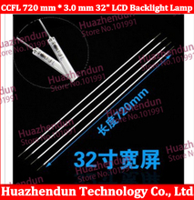 10PCS/LOT 32 inch TV LCD CCFL 720 mm * 3 mm, LCD Backlight Lamp Cold cathode fluorescent lamps 720mm(China)