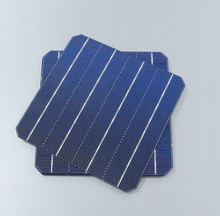 Hot Sale 100pcs 4.4 W 18% - 18.2% high efficiency 156 Mono monocrystalline Solar Cell 6x6 WY