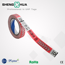Paper One Use-off RFID Wristband: Support Customized Desigh