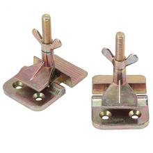 WALFRONT 2 pcs/Lot Silk Screen Printing Metal Butterfly Hinge Clamp DIY Painting Fixing Screens Butterfly Hinge Clamp(China)