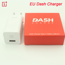 Original ONEPLUS EU 3 3T 5 Dash Charger 5V 4A EU USB Fast Charger Adapter, USB 3.1 Quick Charge Data Dash Cable with packing(China)