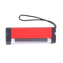 Portable 2 In 1 Torch Light High Power Purple Light Flashlight Money Checking Torch Light  4 x AA Battery Powered Red  Lamp