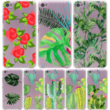 Plants Cactus Banana Leaves Hard Case for Lenovo K3 K4 K5 K6 Note S850 S60 S90 A2010 A5000 X3 Lite ZUK Z2 Vibe P1 & Lumia 535