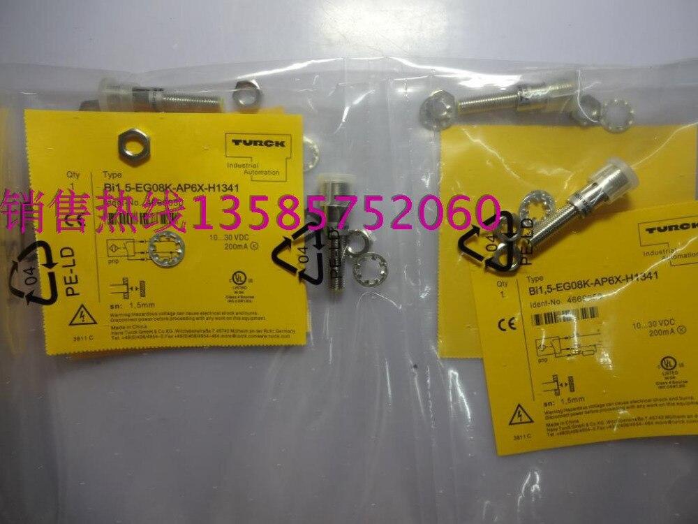 BI1,5-EG08K-AP6X-H1341 Turck New High-Quality Proximity Switch Sensor Warranty For One Year<br><br>Aliexpress