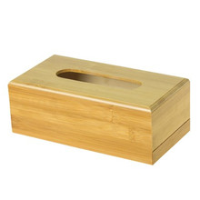 Fashion simple paper towel storage box Wooden Drawer Box home Kitchen car Bar Restaurant Table Decoration Accessories Supplies