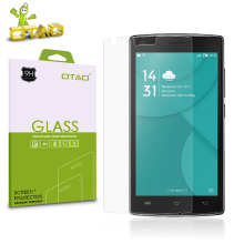 OTAO Tempered Glass Screen Protector Film For Leagoo M8 9H Anti-Scratch Cell Phone Front Cover with Retail Package
