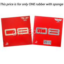 Dawei 08 Pips-in Table Tennis PingPong Rubber With Sponge