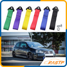 RASTP-Racing Car No Marked Towing Rope High Strength Nylon Trailer Tow Eye Strap Without Logo LS-BAG006-NM(China)
