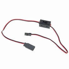 1 Piece Dupont Bevel Male To Shell Head Plug LIPO Battery On / Off Switch JST Cable Wire