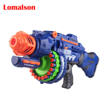 HOT!!! 2015 free shipping fashion toy gun Electric soft gun 20 sniper gun bullet toy gun boy toy 3 colors(China)