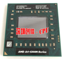 Brand original AMD Laptop Notebook CPU processor A4-4300M 1.4Ghz Socket FS1 A4 4300M AM4300DEC23HJ Free Shipping